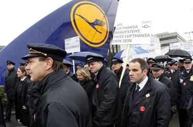 Пилотите на Lufthansa денес ќе стапат во штрајк