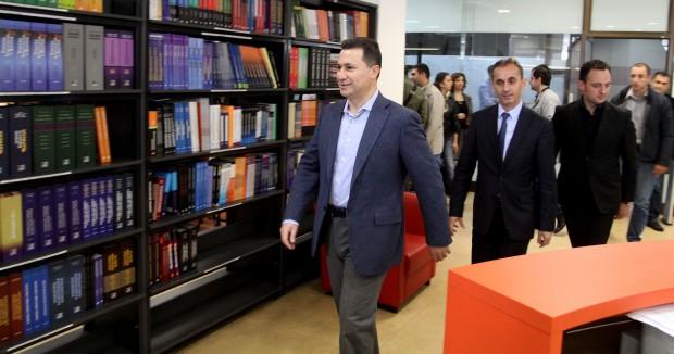 """Груевски: Извештајот на """"Херитиџ"""" препорака за инвеститорите"""