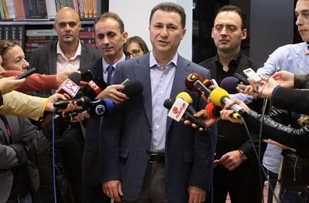 Груевски: Фокусирани сме и на градба и реконструкција на регионални и магистрални патишта