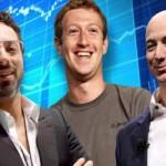 Шестмина технолошки милијардери заработија 13,4 милијарди долари