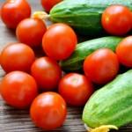 Диета со краставици и домати