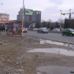 """Времено укината автобуската постојка кај ТЦ """"Мавровка"""""""