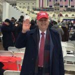 Ѓорѓија Џорџ Атанасоски на инаугурацијата на Доналд Трамп