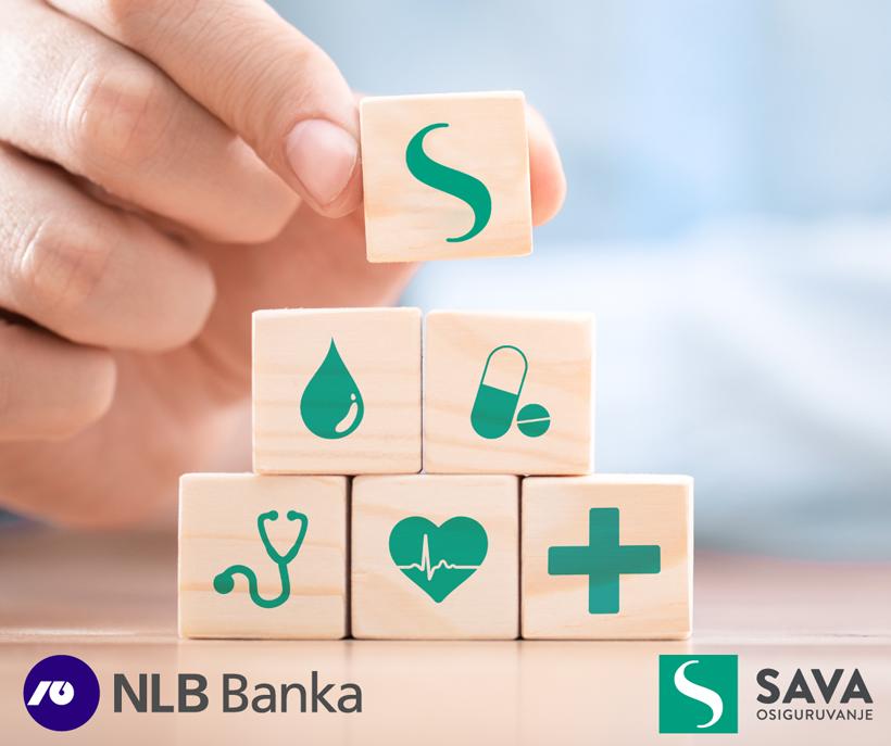 НЛБ банка со понуда за доброволно приватно здравствено осигурување во соработка со Сава Осигурување